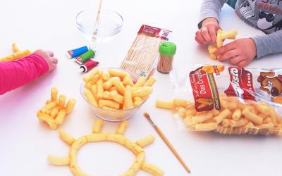 5 kreatywnych zabaw dla dzieci z wykorzystaniem chrupek kukurydzianych