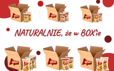 Poznaj nasze BOXy z chrupkami naturalnymi!