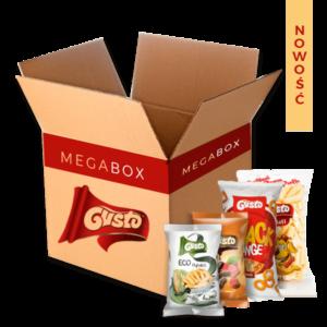 Megabox na start różne smaki chrupek Gusto